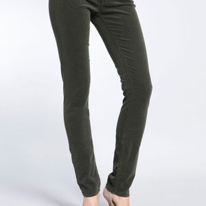 Mavi Jeans Alexa Corduroy Skinny Olive Green 30/30